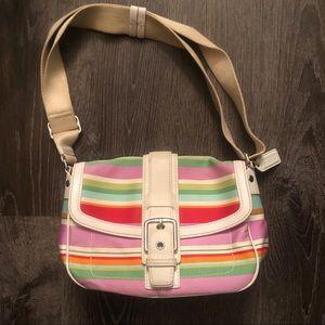 Fun and Functional Coach Shoulder Bag/Crossbody